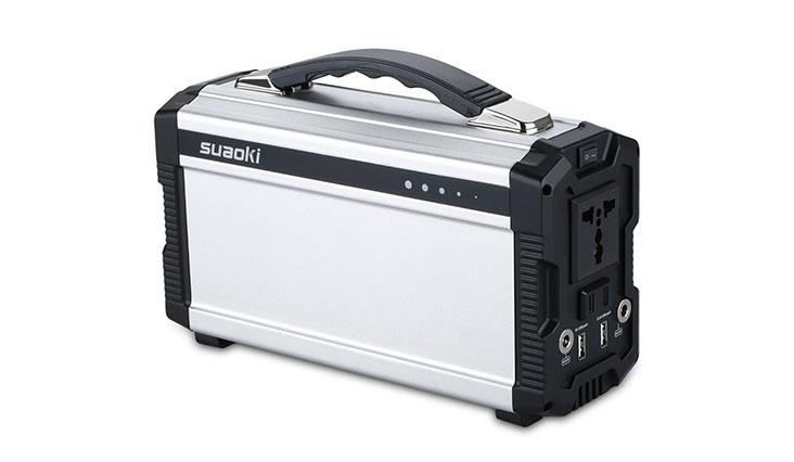 Suaoki 400Wh/120,000mAh Portable Solar Generat