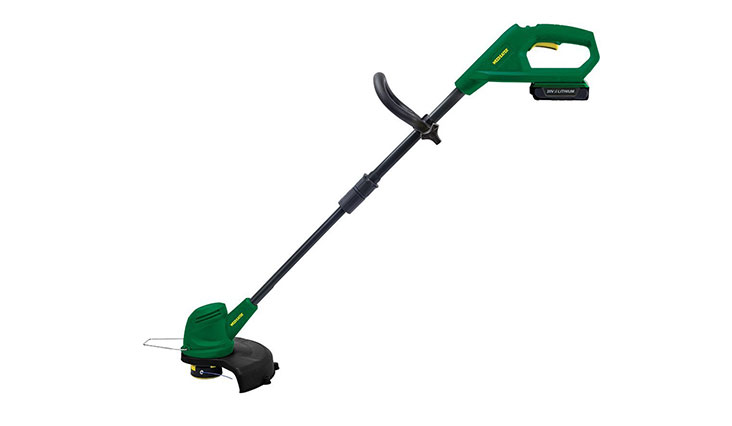 Weed Eater WE20VT 20-Volt Lithium-Ion Rechargeable Battery Powered String Trimmer and Edger – 967599701