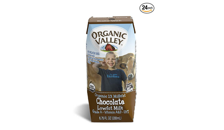 10. Organic Valley, Organic 1% Low Fat Single