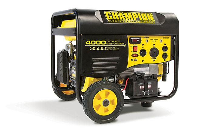 Champion Power Equipment 46539 3500 Watt RV Ready Portable Generator