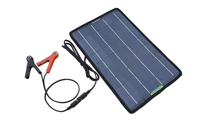 ECO-WORTHY 12 Volts 10 Watts Portable Power Solar Panel