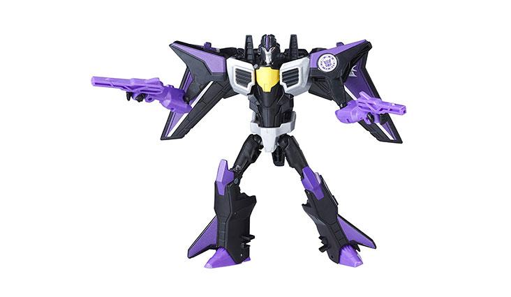 Transformers Robots in Disguise Warrior Class Skywarp Figure