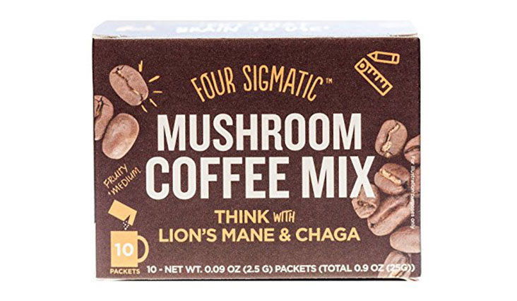 Four Sigmatic Mushroom Coffee with Lion's Mane & Chaga