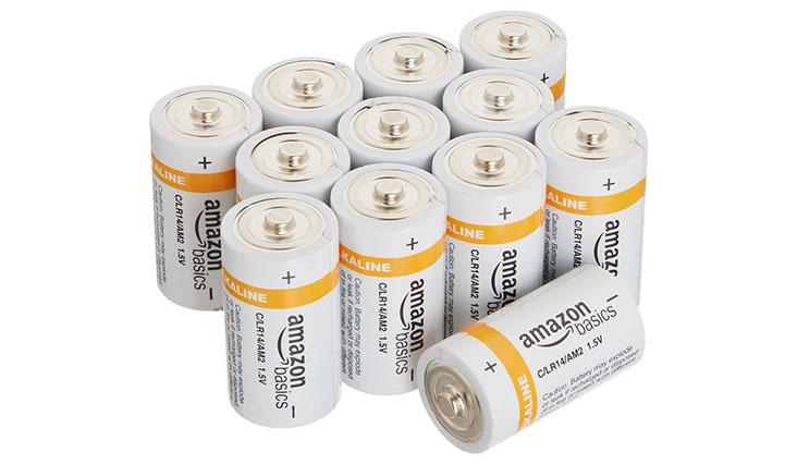 AmazonBasics C Cell Everyday Alkaline Batteries