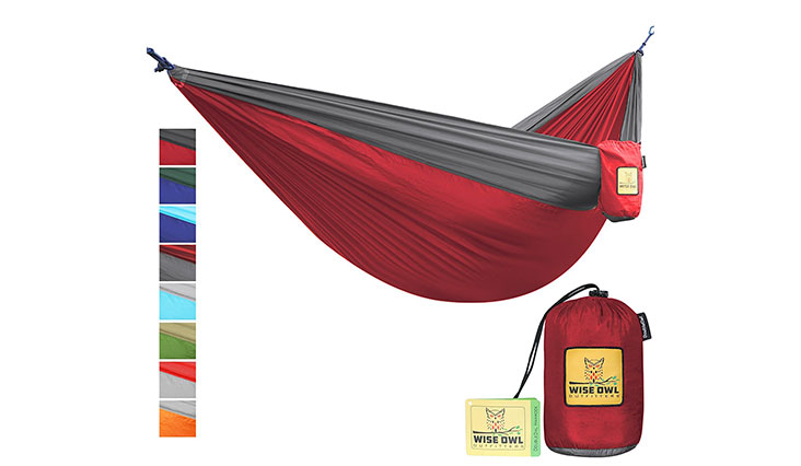 Hammock for Camping, SO Charcoal Grey & Rose