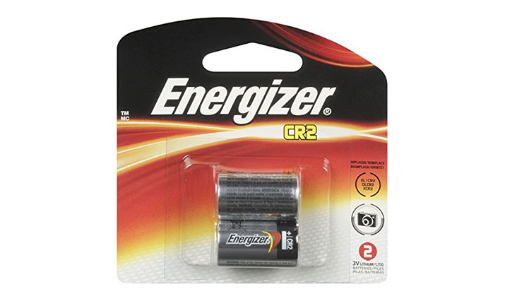 Energizer EL1CRBP-2 3-Volt Lithium Photo Battery