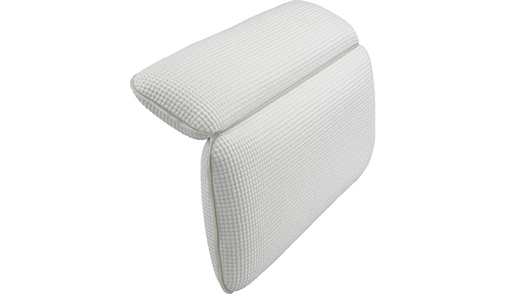 Surpahs Non-slip Semi-Soft Bathtub Spa Pillow