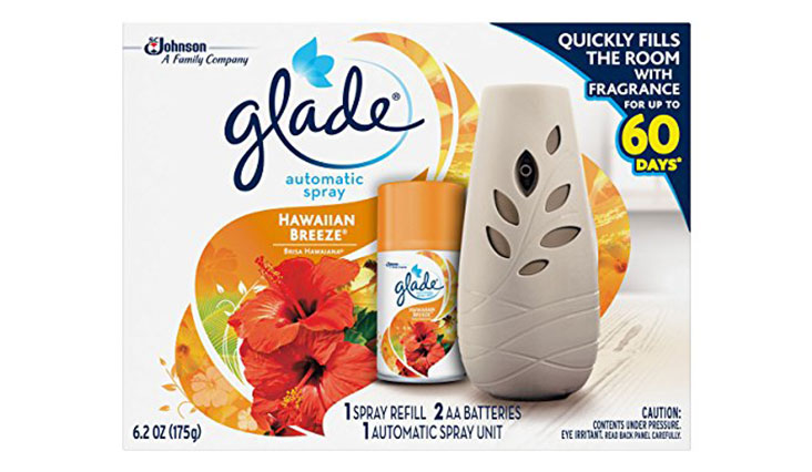 Glade Automatic Spray Air Freshener Starter Kit, Hawaiian Breeze (6.2 oz)