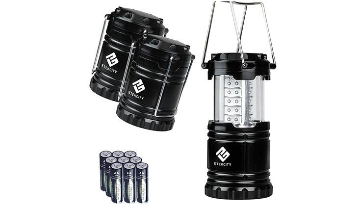 Etekcity 3 Pack Portable Outdoor LED Lantern