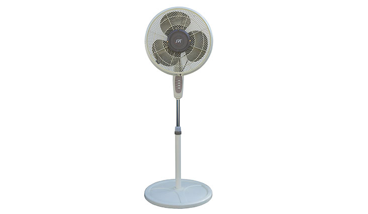 SPT SF-1666M Oscillating Misting Fan, 16-Inch