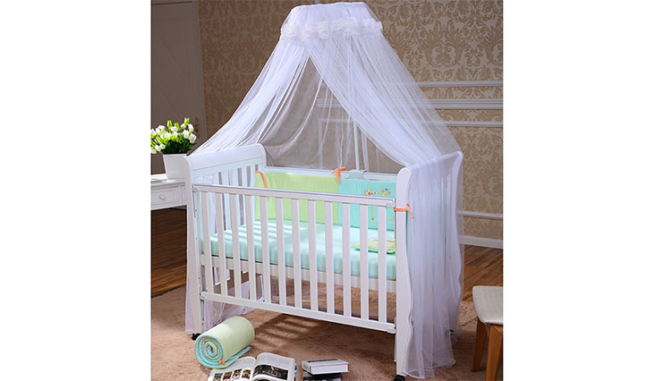 FOXNOVO Mosquito Net, Baby Canopy Bed Netting, High Quality