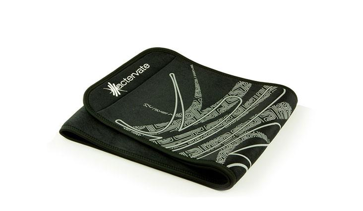 Actervate - Waist Trimmer Belt Black 50 Inch