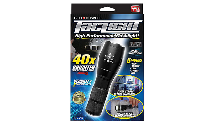 Bell + Howell 1176 Taclight High-Powered Tactical Flashlight