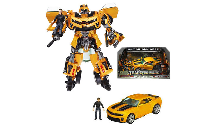 NEW! Original Hasbro Transformers ROTF Human Alliance Bumblebee with Sam NO BOX