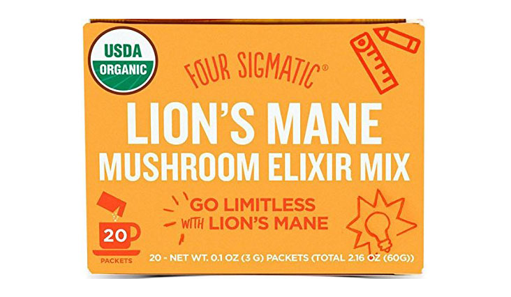 Four Sigmatic Organic Mushroom Elixir Mix with Lion's Mane and Antioxidants