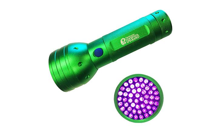 Particular Paw UV Blacklight Flashlight