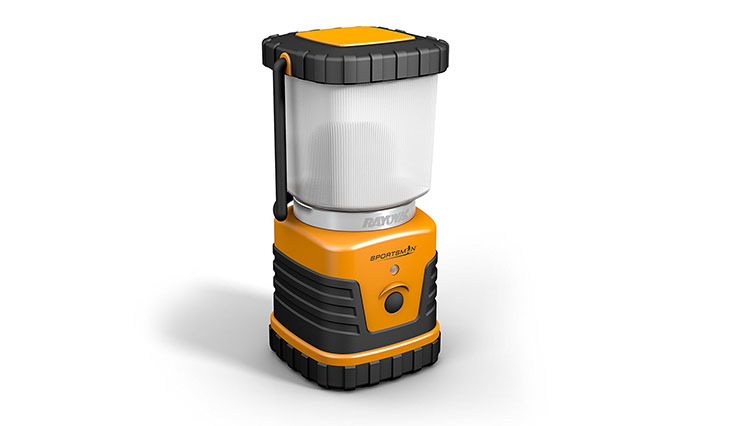 Rayovac's SE3DLN Sportsman lantern