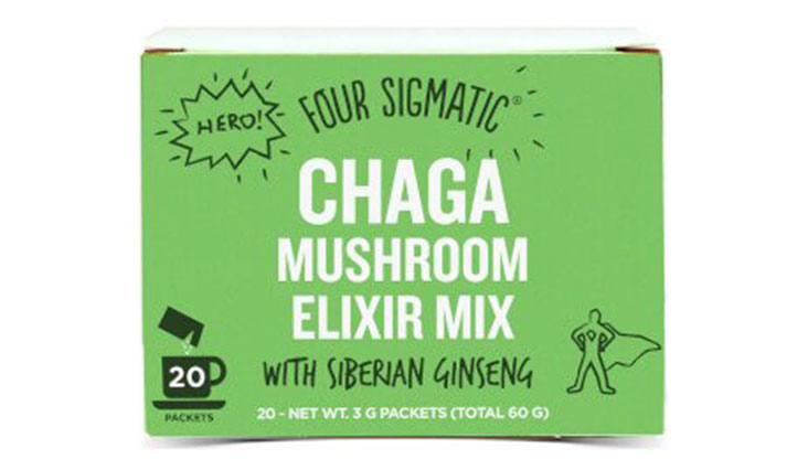 Four Sigmatic Organic Mushroom Elixir Mix with Chaga & Antioxidants