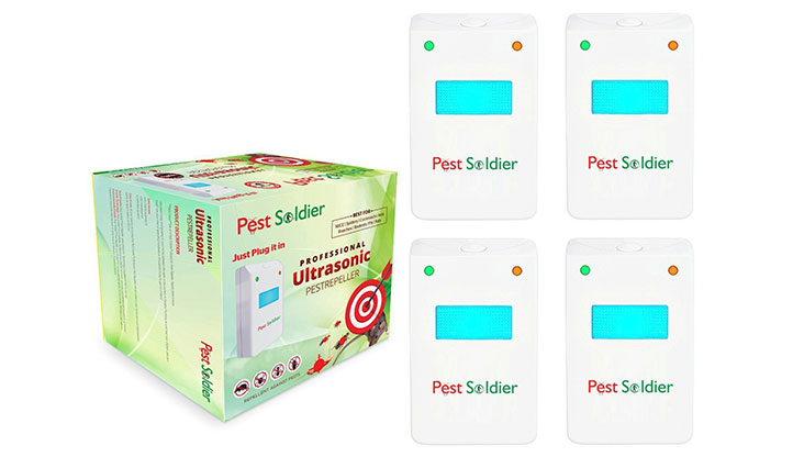 Pest Soldier Electronic Plug Ultrasonic Pest Control Repeller