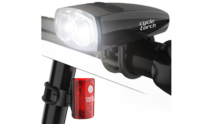 Cycle Torch Rechargeable USB Cycle Torch Light