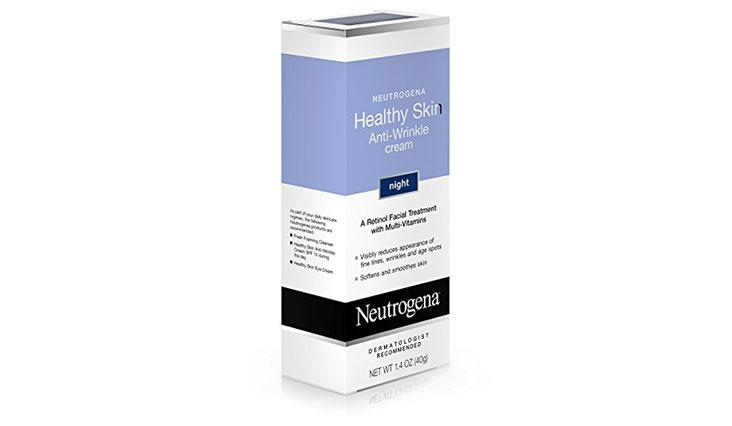 Neutrogena Healthy Skin Anti-Wrinkle Cream Night With Retinol