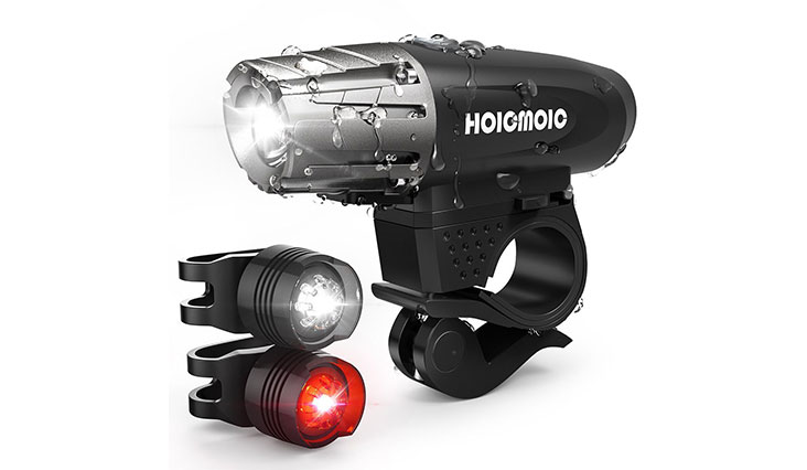 Hoicmoic USB Rechargeable Bike Lights