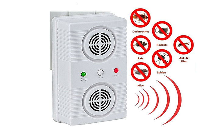 1 Ultrasonic Pest Repeller - Plug2Repel Repels