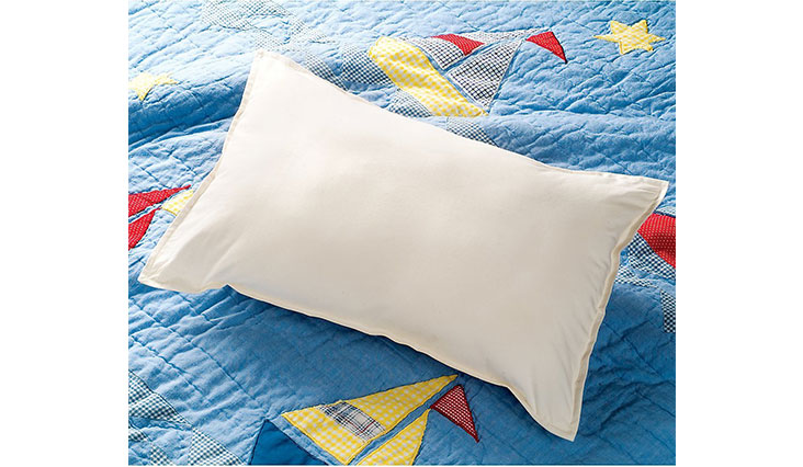 One Step Ahead Kids or Toddlers Hypoallergenic, Mite-proof, BPA Free Antimicrobial Pillow, 18 x 12