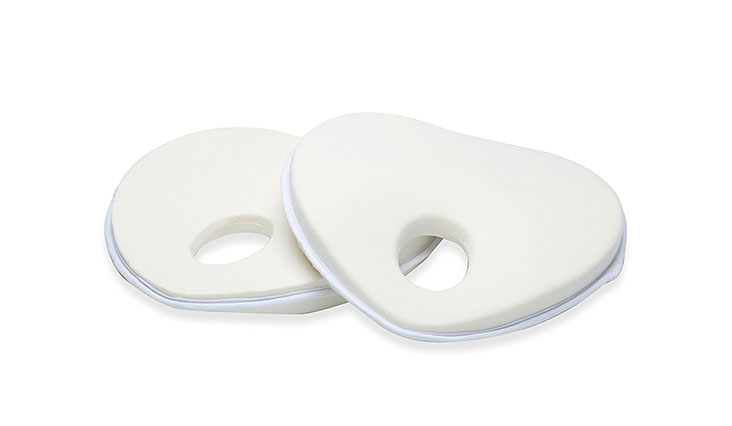 Baby Pillow for Flat Head Syndrome Prevention, Prevent Plagiocephaly for Infants & Newborn - Baby Shower Gifts Registry