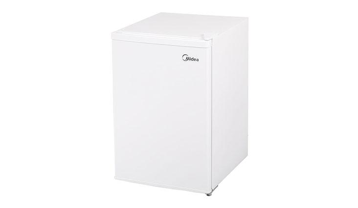 Midea WHS-52FW1 Compact Single Reversible Door Upright Freezer, 1.1 Cubic Feet, White