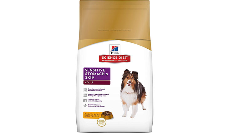 Hill's Science Diet Adult Sensitive Stomach & Skin Dry Dog Food