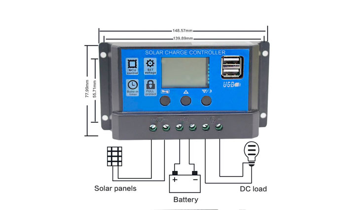 Top 10 Best Solar Charge Controllers For General Use In Review 2017
