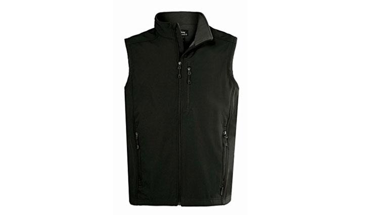 Landway Men's Water Resistant Bonded Soft Shell Vest