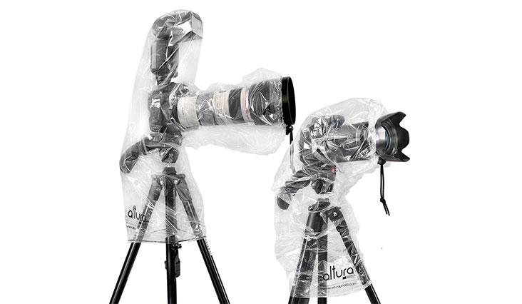 Altura Photo Rain Cover for DSLR Camera – Standard and Flash Version