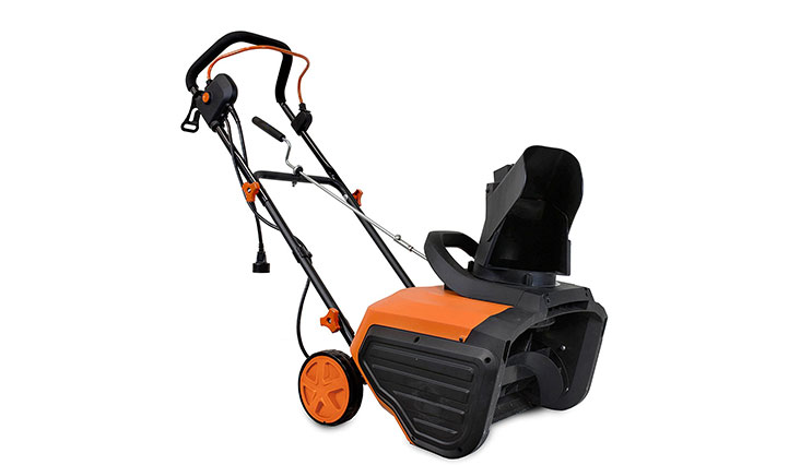 WEN 5662 Snow Blaster 13.5-Amp Electric Snow Thrower, 18-Inch