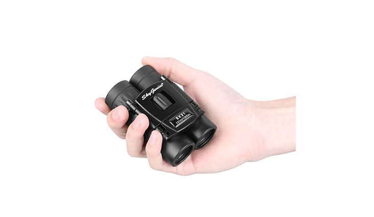 8x21 Small Compact Lightweight Binoculars For Concert Theater Opera .Mini Pocket Folding Binoculars w/ Fully Coated Lens For Travel Hiking Bird Watching Adults Kids(0.38lb)