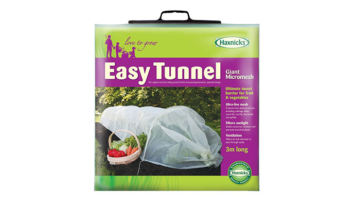Tierra Garden 50-5030 Haxnicks Easy Micromesh Tunnel Garden Cloche, Giant