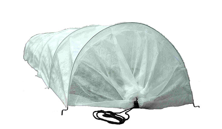 Tierra Garden 50-5060 Haxnicks Easy Fleece Tunnel Garden Cloche