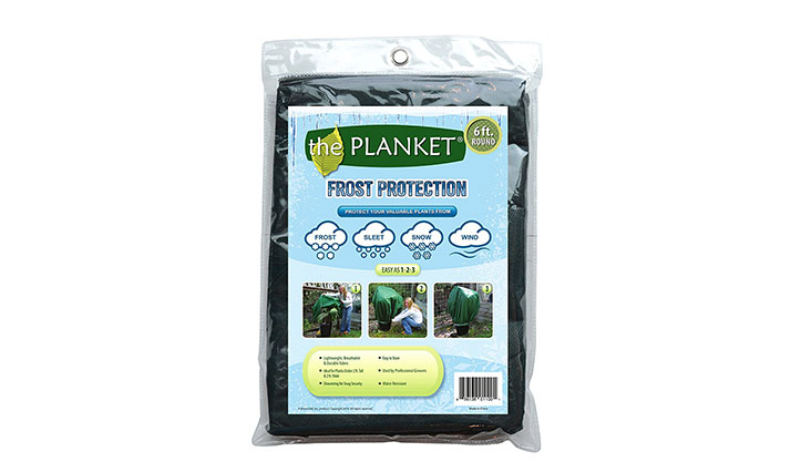 the Planket Frost Protection Plant Cover, 6 ft Round