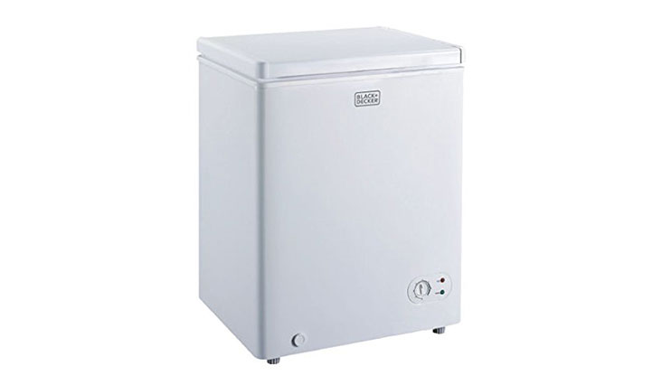 BLACK+DECKER BCFK35W 3.5 Cu. Ft. Chest Freezer