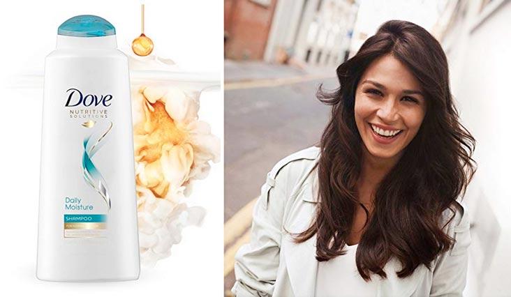 Dove Nutritive Solutions Shampoo, Daily Moisture 20.4 oz