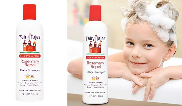 Fairy Tales Rosemary Repel Daily Kid Shampoo for Lice Prevention - 12 oz