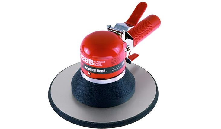 Heavy Duty Air Geared Orbital Sander - 8-Inch Pad