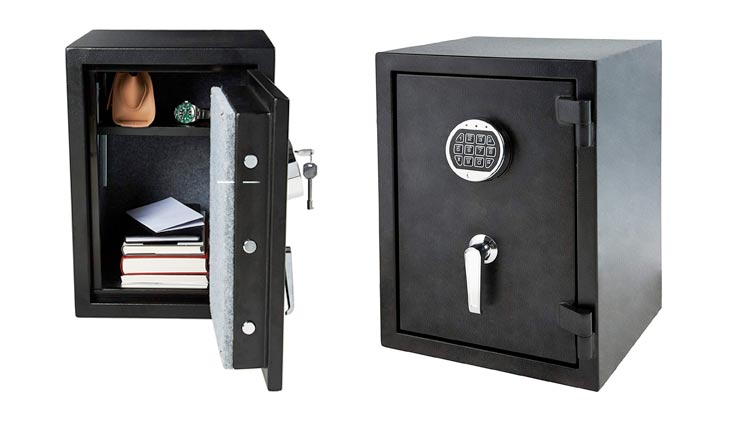 Deluxe Safe 7775 Lock and Safe 1.8 CF Large Electronic Digital Safe Gun Jewelry Home Secure