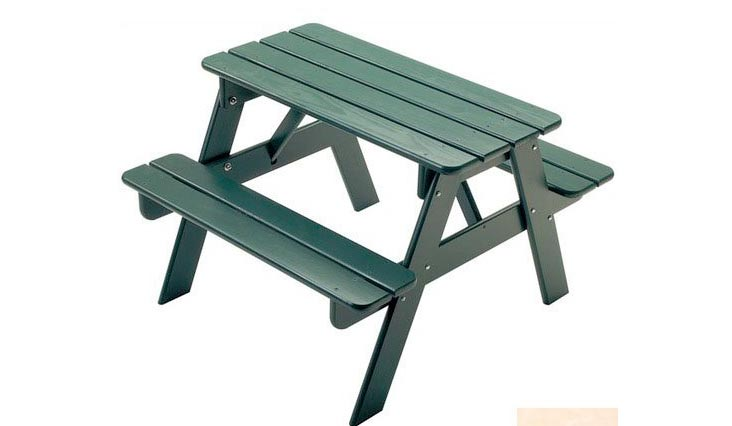 Little Colorado Child's Picnic Table- Unfinished