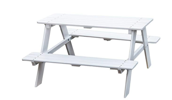 KAO Mart Kids Children's Wooden Picnic Table Bench