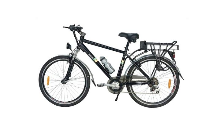 Yukon Trail Bicycles Outback 26 7-Speed Lithium Powered Eco-Friendly Electric Bike