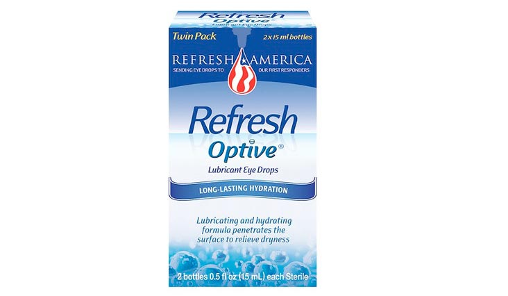 Refresh Optive, Lubricant Eye Drops, 2 Bottles 0.5 fl oz