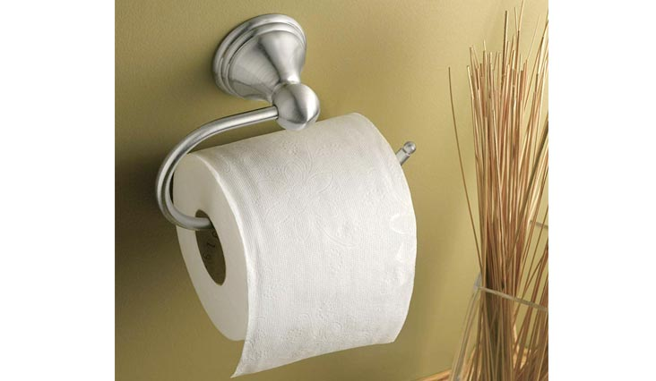 Preston Toilet Paper Holders, Brushed Nickel