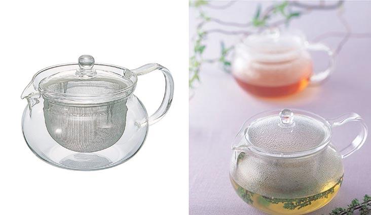 """Hario Chacha Kyusu""""Maru"""" Teapot, 700ml"""